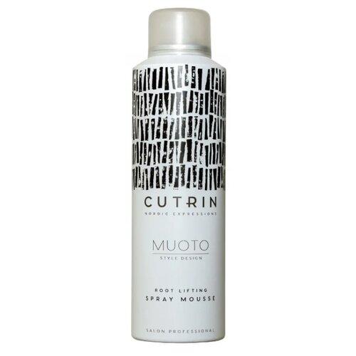 Фото - Cutrin Спрей-мусс для прикорневого объема Root Lifting Spray Mousse, 200 мл спрей для прикорневого объема волос root canal volumising spray спрей 50мл