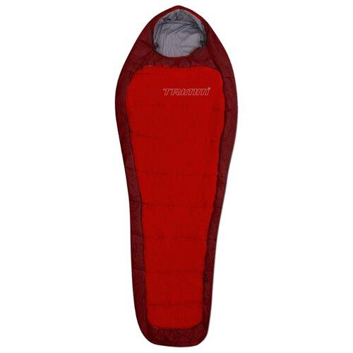 Спальный мешок TRIMM Impact 185 red/dark red с правой стороны по цене 6 850