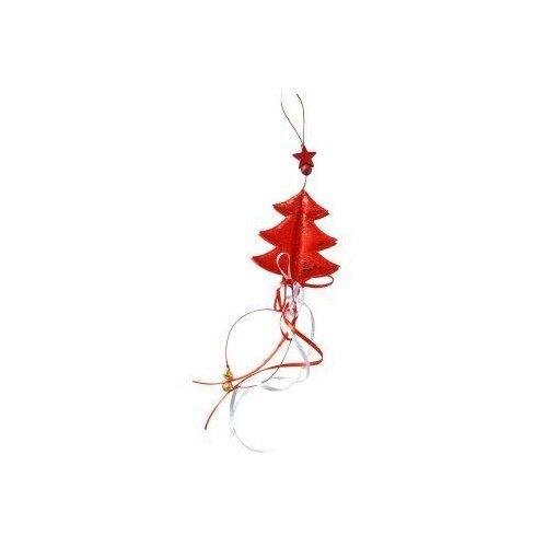 Подвеска Новогодняя сказка 40 см, красная