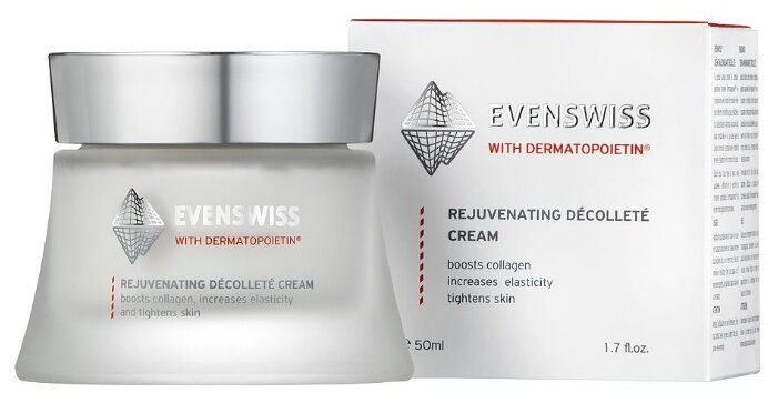 Крем для тела Evenswiss Rejuvenating decollete cream