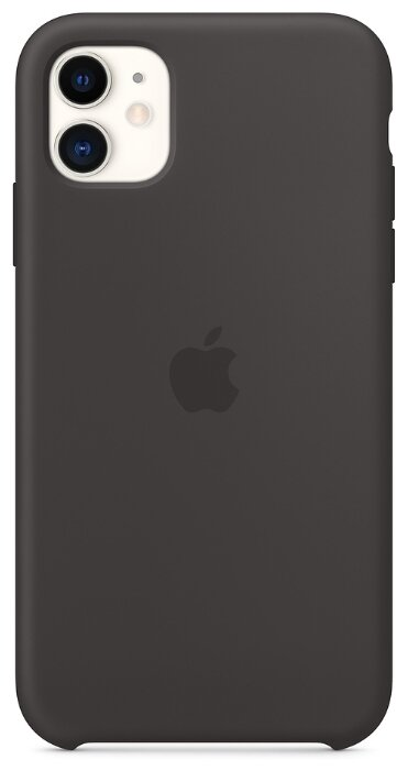 Чехол для APPLE iPhone 11 Silicone Case Black MWVU2ZM/A