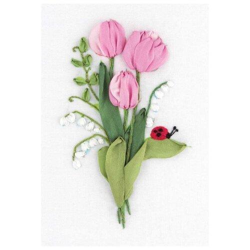 Купить PANNA Набор для вышивания Нежность весны 11 х 16 см (JK-2135), Наборы для вышивания