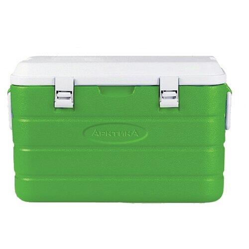 Арктика Изотермический контейнер с боковыми ручками и верхним клапаном зеленый 40 л