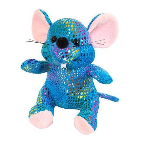 Купить Мягкая игрушка ABtoys Мышка синяя 13 см, Мягкие игрушки