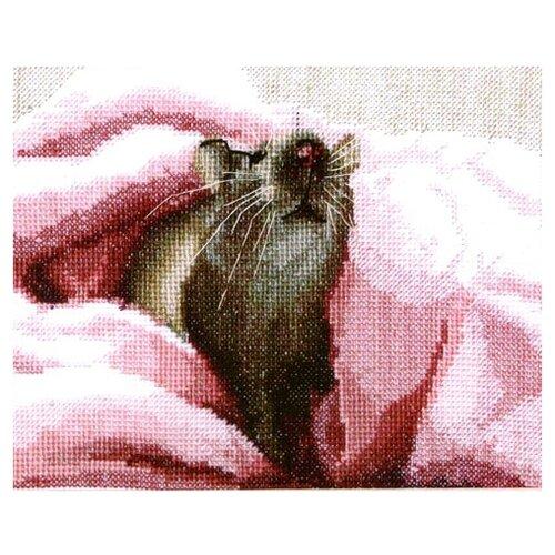 Чарiвна мить Набор для вышивания Крыса 16.5 х 13 см (А-085), Наборы для вышивания  - купить со скидкой