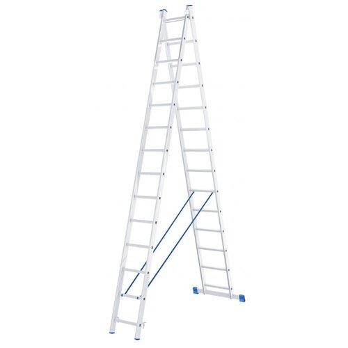 Лестница трансформер 2-секционная Сибртех 97914