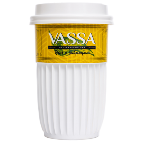 Натуральный чай Vassa в стакане Save Hands черный с чабрецом, 1 уп. чай черный sonnentor с чабрецом 90 г