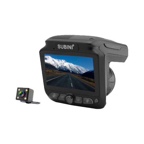 Купить Видеорегистратор с радар-детектором Subini SV-200 черный