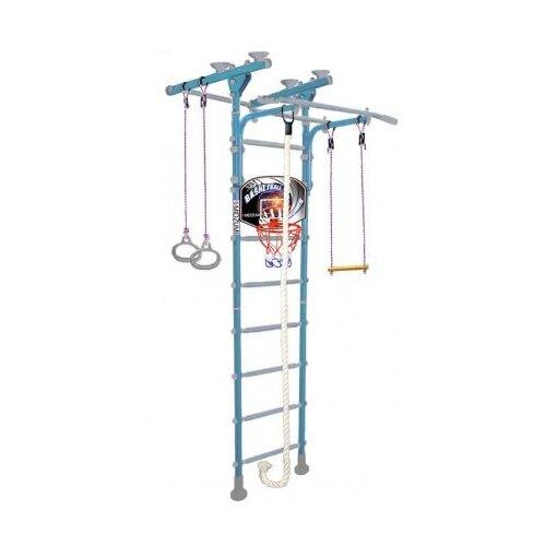Купить Шведская стенка Midzumi Hoshi Ton Basketball Shield небесная глазурь, Игровые и спортивные комплексы и горки