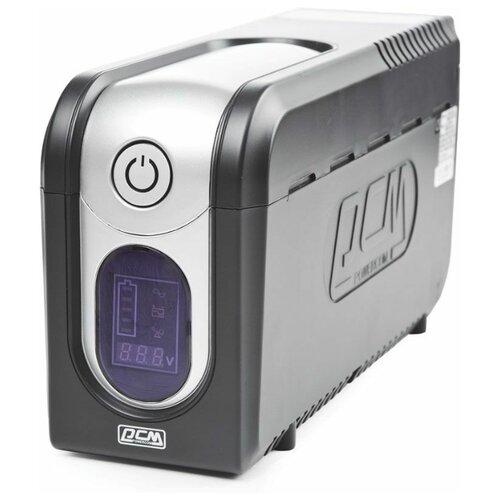 Фото - Интерактивный ИБП Powercom Imperial IMD-525AP черный интерактивный ибп powercom imperial imp 1200ap серый