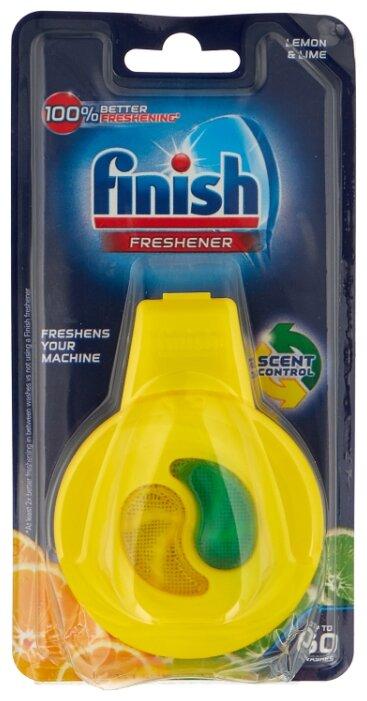 Finish освежитель (лимон и лайм) для посудомоечных машин 5 г