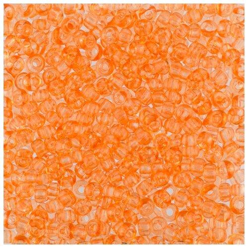 Купить Бисер Preciosa , 10/0, 50 грамм, цвет: 01184 оранжевый, Фурнитура для украшений