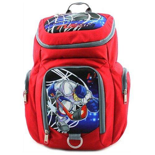 Рюкзак хоккейный BITEX 28-121 красный, хоккеист