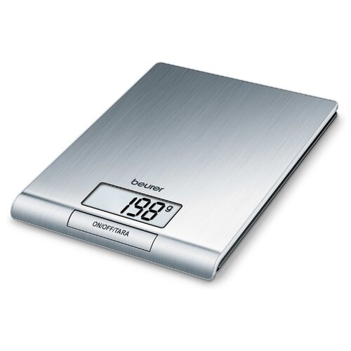 Кухонные весы Beurer KS 42 серебристый