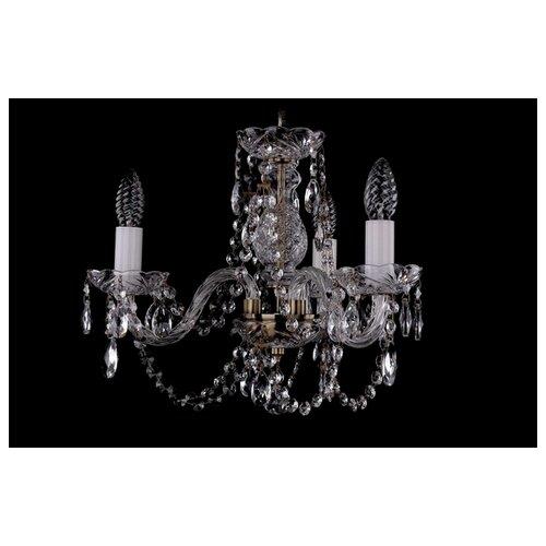 Люстра Bohemia Ivele Crystal 1406 1406/3/141/Pa, E14, 120 Вт подвесная люстра 1406 8 141 pa