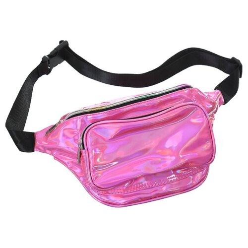 Фото - Сумка поясная Михи Михи, искусственная кожа, розовый сумка поясная solo искусственная кожа желтый
