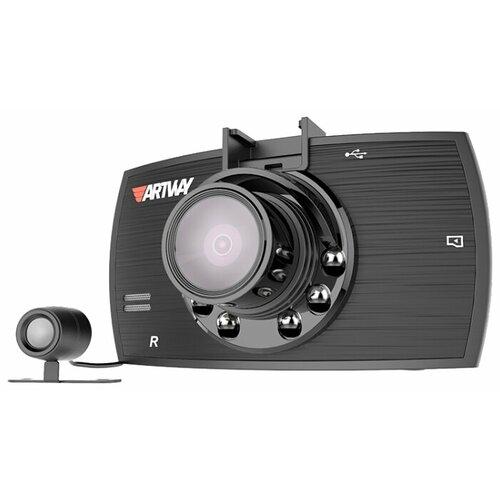 Видеорегистратор Artway AV-520, 2 камеры видеорегистратор artway av 601 2 камеры черный