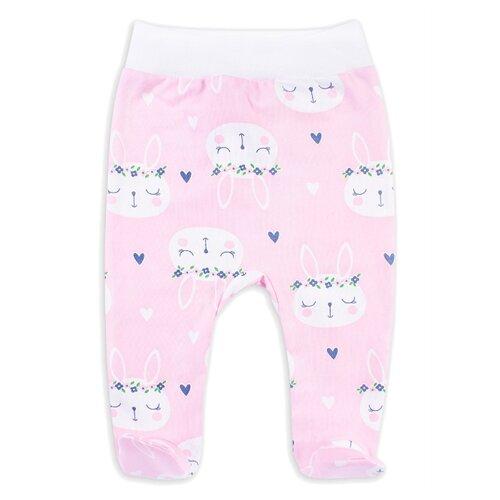 ползунки веселый малыш размер 62 молочный Ползунки Веселый Малыш размер 62, розовый/белый