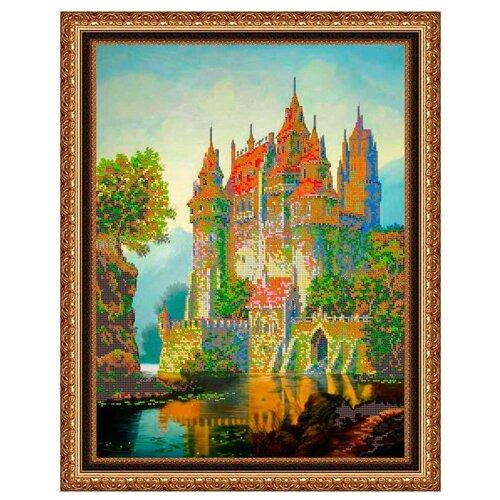 Светлица Набор для вышивания бисером Замок 48,9 х 39,1 см (346)