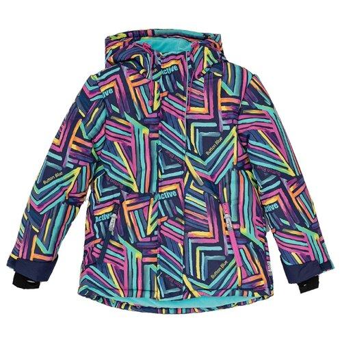 Купить Куртка Button Blue Active 220BBGA41040013 размер 128, мультицвет, Куртки и пуховики