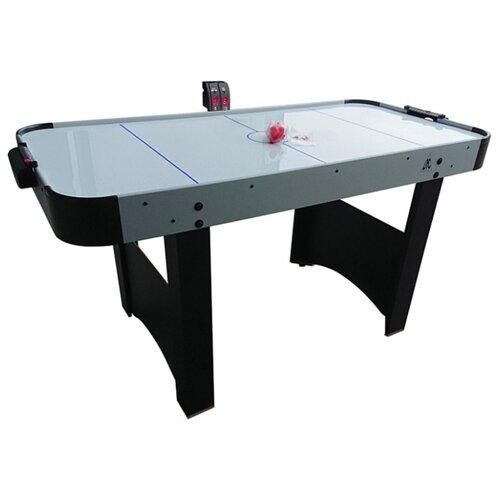 Фото - Игровой стол для аэрохоккея DFC New York HM-AT-60001 серый/черный игровой стол для аэрохоккея dfc baltimor ds at 09 красный черный
