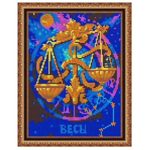 Светлица Набор для вышивания бисером Весы 19 х 24 см, бисер Чехия (476П)