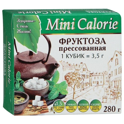 Mini Calorie Сахарозаменитель Фруктоза кубики 280 г
