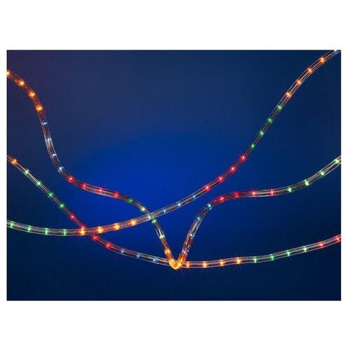 Гирлянда SNOWMEN Дюралайт Е2050, 1000 см, 360 ламп, разноцветные диоды/прозрачный провод