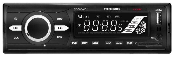 Автомагнитола TELEFUNKEN TF-CCR8101 фото 1