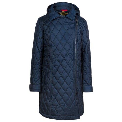 Купить Полупальто Gulliver 219GSGC4501 размер 170, синий, Пальто и плащи