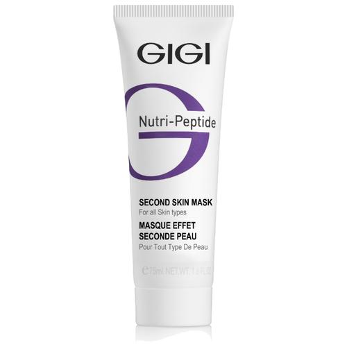 Gigi Nutri-Peptide Second Skin Mask маска-пилинг пептидная черная, 75 мл пилинг gigi rice exfoliator profess 200 мл