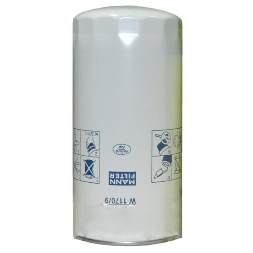 Масляный фильтр MANNFILTER W1170/9