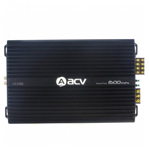 Автомобильный усилитель ACV LX-4.100 автомобильный усилитель acv lx 2 100