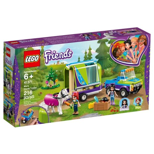 Купить Конструктор LEGO Friends 41371 Трейлер для лошадки Мии, Конструкторы