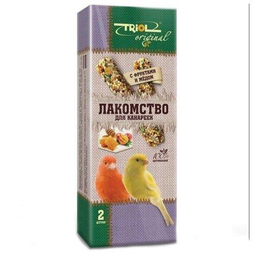 Лакомство для птиц Triol Original с фруктами и мёдом для канареек