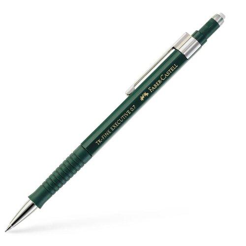 Купить Faber-Castell Механический карандаш TK-Fine Executive 0, 7 мм 1 шт. зеленый, Механические карандаши и грифели