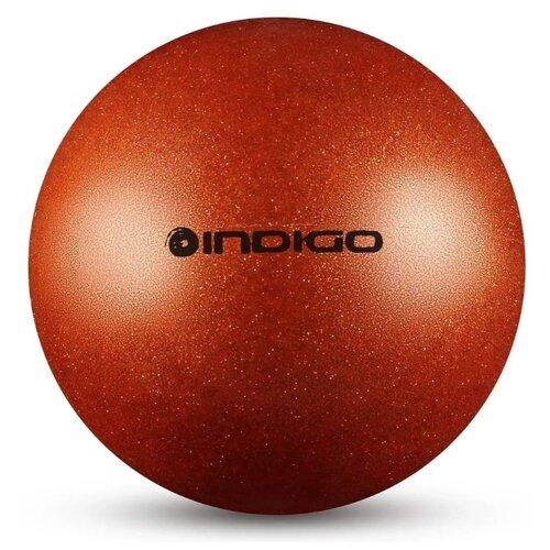 Мяч для художественной гимнастики Indigo IN119 оранжевый