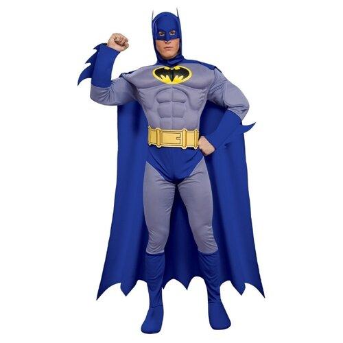 Фото - Костюм Бэтмен с мускулами синий взрослый, L (50-52) костюм авангард 001160 l синий
