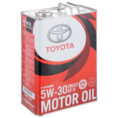 Моторное масло TOYOTA SN 5W-30 4 л