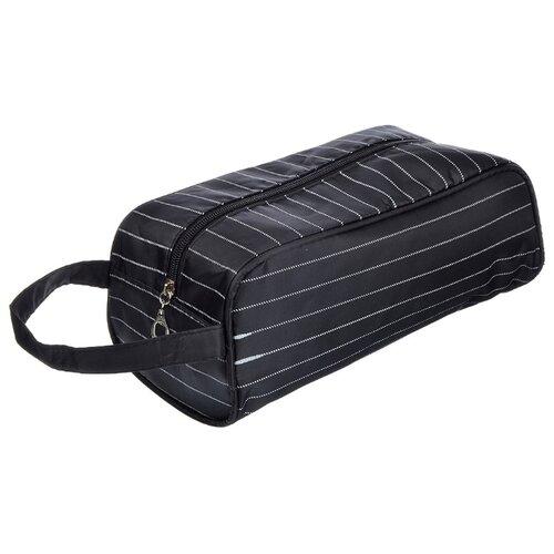 Косметичка PAVO Полоска 310209, черный