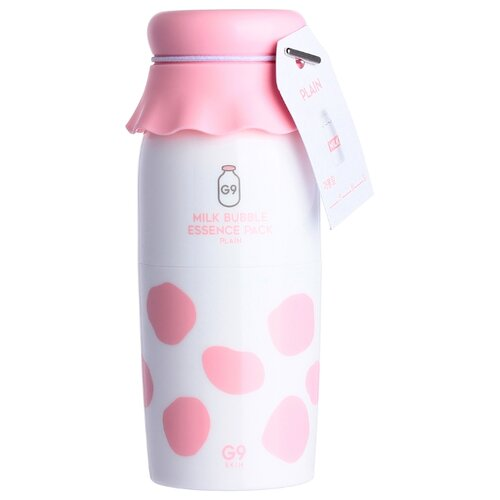 G9SKIN Маска кислородная Milk Bubble Essence Pack Plain, 50 мл недорого