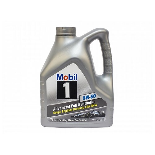 Синтетическое моторное масло MOBIL 1 5W-50 4 л
