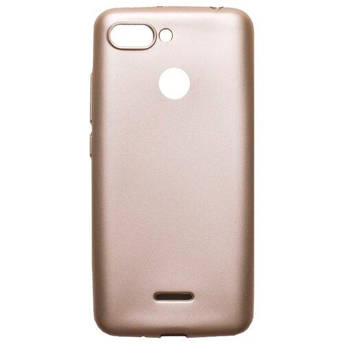 Чехол Akami Soft-touch для Xiaomi Redmi 6 золотой