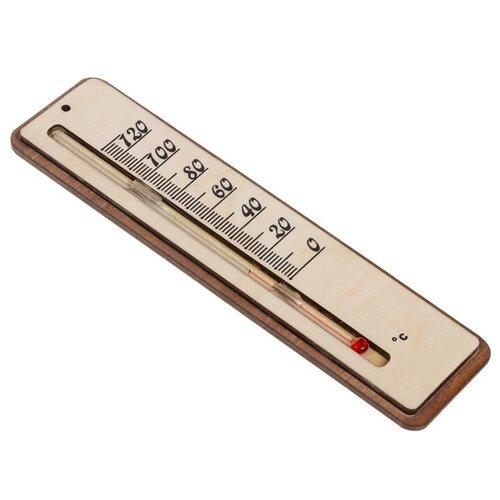 Фото - Термометр Невский банщик б11580 прямоугольник бежевый невский банщик