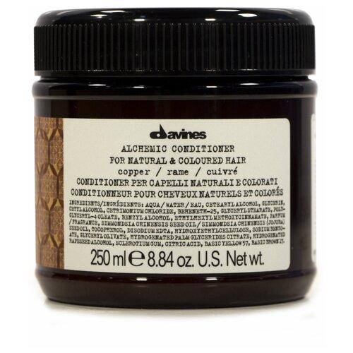 Davines кондиционер Алхимик для натуральных и окрашенных волос, оттенок медь, 250 мл davines кондиционер для абсолютной красоты волос 250 мл