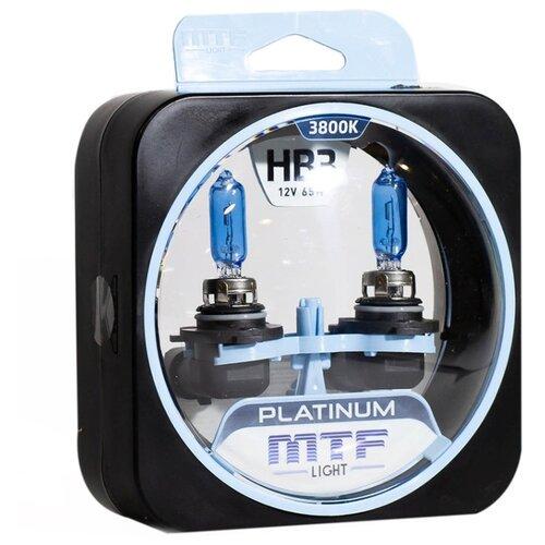 Лампа автомобильная галогенная MTF Platinum HPL12B3 HB3 (9005) 12V 65W 2 шт. лампа автомобильная галогенная mtf titanium htn1208 h8 12v 35w 2 шт