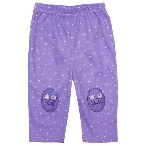 Купить Брюки KotMarKot Сладкая мышка 5210371 размер 62, фиолетовый, Брюки и шорты