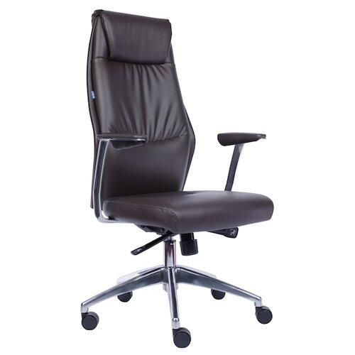 Фото - Компьютерное кресло Everprof London для руководителя, обивка: искусственная кожа, цвет: темно-коричневый компьютерное кресло everprof drift m для руководителя обивка натуральная кожа цвет коричневый