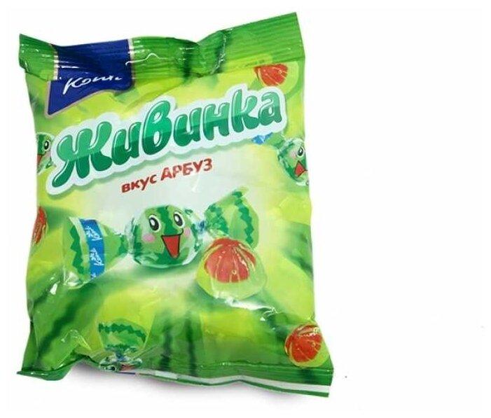 Konti Конфеты Живинка вкус арбуз 250 г
