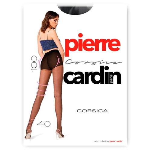 Фото - Колготки Pierre Cardin Corsica, 40 den, размер II-S, nero (черный) колготки 50 den pierre cardin marseille coffee 2 мл